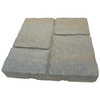 Oldcastle Cassay 16-in x 16-in Arcadian Four-Cobble Patio Stone (Actuals 15.75-in W x 15.75-in L)