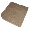 Britt Beige Four-Cobble Concrete Patio Stone (Common: 16-in x 16-in; Actual: 15.7-in x 15.7-in)