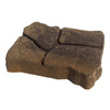 Tranquil Alameda Concrete Patio Stone (Common: 11-in x 13-in; Actual: 11.1-in x 13.3-in)
