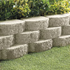 Gray Basic Concrete Retaining Wall Block (Common: 12-in x 4-in; Actual: 11.5-in x 4-in)