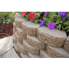 Tan Basic Concrete Retaining Wall Block (Common: 12-in x 4-in; Actual: 11.5-in x 4-in)