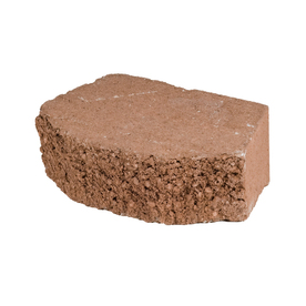 Shop Terracotta Basic Concrete Retaining Wall Block