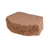 Fulton 12-in L x 4-in H Terracotta Basic Retaining Wall Block (Actuals 11.5-in L x 4-in H)