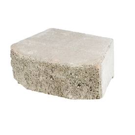 Gray Basic Concrete Retaining Wall Block (Common: 16-in x 6-in; Actual: 15.8-in x 6-in)