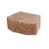Fulton 16-in L x 6-in H Terracotta Basic Retaining Wall Block (Actuals 16-in L x 6-in H)