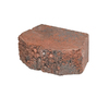 Fulton 8-in L x 3-in H Red/Charcoal Basic Retaining Wall Block (Actuals 8.1-in L x 3-in H)