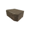 Fulton 12-in L x 4-in H Tan Basic Retaining Wall Block (Actuals 11.5-in L x 4-in H)