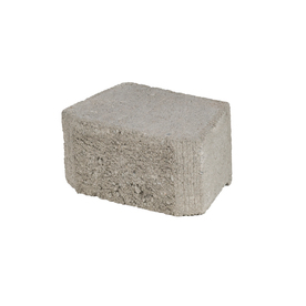 Oldcastle Fulton 8-in L x 4-in H Gray Basic Retaining Wall Block (Actuals 8.125-in L x 3-in H)