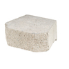 Fulton 16-in L x 6-in H Gray Basic Retaining Wall Block (Actuals 15.8-in L x 6-in H)