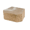 Fulton 16-in L x 6-in H Tan Basic Retaining Wall Block (Actuals 15.8-in L x 6-in H)