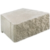 Gray Basic Concrete Retaining Wall Block (Common: 17-in x 6-in; Actual: 15.6-in x 6-in)