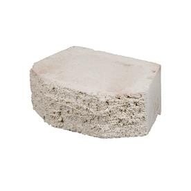 White Basic Concrete Retaining Wall Block (Common: 12-in x 4-in; Actual: 11.5-in x 4-in)