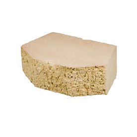 Sand Basic Concrete Retaining Wall Block (Common: 12-in x 4-in; Actual: 11.5-in x 4-in)