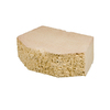 Sand Basic Retaining Wall Block (Common: 12-in x 4-in; Actual: 11.5-in x 4-in)