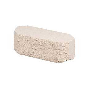 Oldcastle White Double Split Concrete Retaining Wall Block (Common: 12-in x 4-in; Actual: 12-in x 4-in)