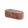 Oldcastle Fulton 12-in L x 4-in H Red Double Split Retaining Wall Block (Actuals 12-in L x 4-in H)