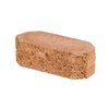 Oldcastle Luxora 12-in L x 4-in H Terracotta Double Split Retaining Wall Block (Actuals 12-in L x 4-in H)