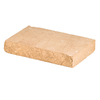 Sand/Tan Chiselwall Retaining Wall Cap (Common: 12-in x 2-in; Actual: 12-in x 2-in)