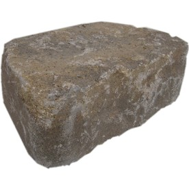 Harvest Blend Flagstone Retaining Wall Block (Common: 11-in x 4-in; Actual: 11.6-in x 4-in)