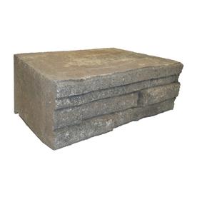 Oak Run Ledgewall Retaining Wall Block (Common: 12-in x 4-in; Actual: 12.1-in x 4-in)