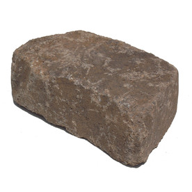 Tranquil Flagstone Concrete Retaining Wall Block (Common: 11-in x 4-in; Actual: 11.6-in x 4-in)