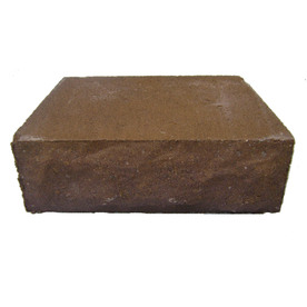 allen + roth Cassay Autumn/Gold Chiselwall Retaining Wall Block (Common: 12-in x 4-in; Actual: 12-in x 4.1-in)