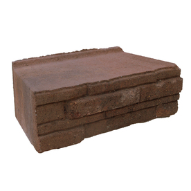 allen + roth Cassay 12-in L x 4-in H Autumn Blend Ledgewall Retaining Wall Block (Actuals 12.1-in L x 4-in H)
