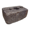 allen + roth Luxora 16-in L x 6-in H Basalt Country Manor Retaining Wall Block (Actuals 15.8-in L x 6.2-in H)