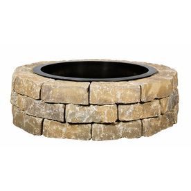 display product reviews for 435in w x 435in l britt beige concrete - Fire Pit Ring