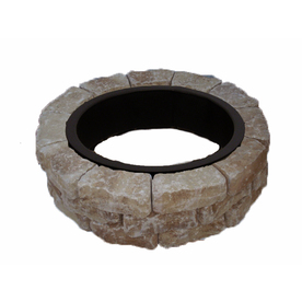 Veranda Flagstone Fire Pit Patio Block Project Kit