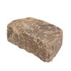 Britt Beige Flagstone Concrete Retaining Wall Block (Common: 8-in x 3-in; Actual: 8.2-in x 3-in)