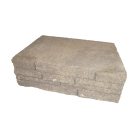 Arcadian Ledgewall Concrete Retaining Wall Block (Common: 12-in x 4-in; Actual: 12-in x 4-in)