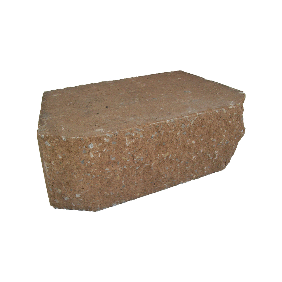 Shop Tan Basic Retaining Wall Block Common 18 In X 6 In