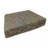 Tan/Charcoal Insignia Concrete Retaining Wall Cap (Common: 12-in x 3-in; Actual: 12-in x 2.5-in)