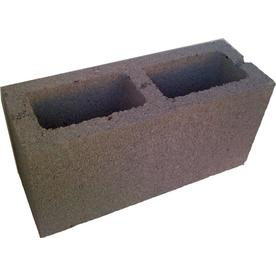 Normal Weight Concrete Block (Common: 6-in x 8-in x 16-in; Actual: 5.5-in x 7.5-in x 15.5-in)