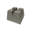 Concrete Deck Block (Common: 7-in x 11-in x 11-in; Actual: 7.125-in x 10.375-in x 10.375-in)