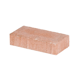 Peach Holland Concrete Patio Stone (Common: 4-in x 8-in; Actual: 3.8-in x 7.7-in)