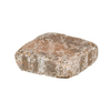 allen + roth Luxora 6-in x 6-in Tan Charcoal Countryside Patio Stone (Actuals 5.88-in W x 5.88-in L)
