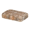 allen + roth Luxora Tan Charcoal Countryside Patio Stone (Common: 6-in x 9-in; Actual: 5.8-in H x 8.8-in L)