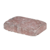Oldcastle Luxora 6-in x 9-in Red Charcoal Countryside Patio Stone (Actuals 5.88-in W x 8.88-in L)