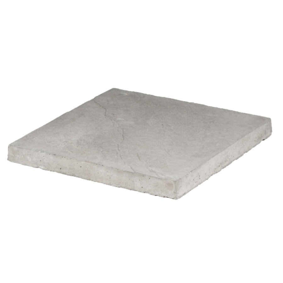 Shop Gray Square Patio Stone Common 18 In X 18 In