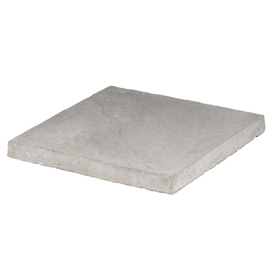 Gray Square Concrete Patio Stone (Common: 18-in x 18-in; Actual: 17.8-in x 17.8-in)
