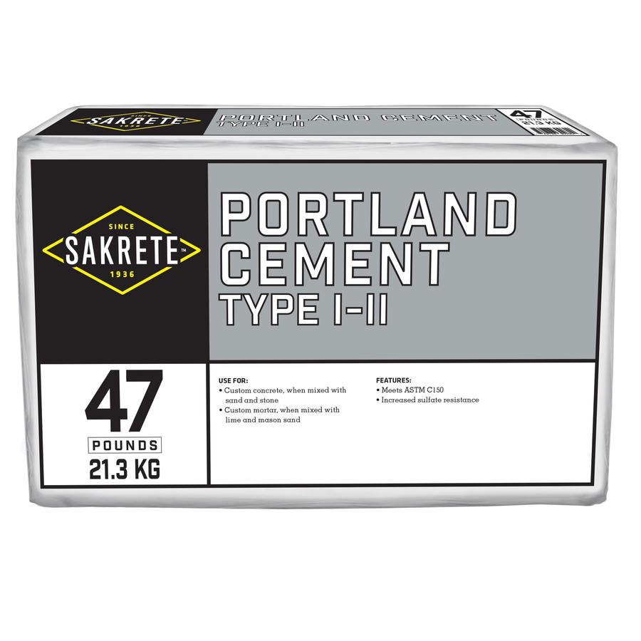 Portland Cement Lowes : Shop sakrete lb cement mix at lowes