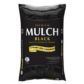  Premium 2 cu ft Black Hardwood Mulch