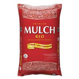 Premium 2 cu ft Red Hardwood Mulch