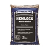 Timberline 2-cu ft Light Brown/Gold Hemlock Mulch