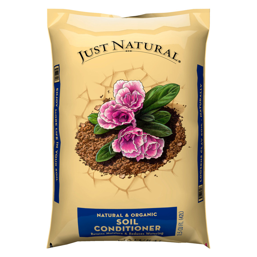 Shop just natural 1 5 cu ft organic soil conditioner at for Organic soil