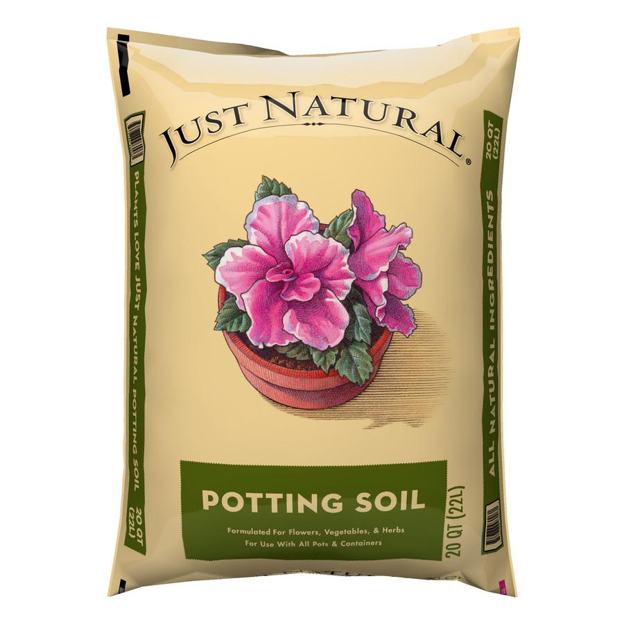 Shop oldcastle just natural 20 quart potting soil at for Potting soil clearance