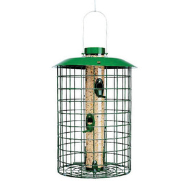 Duncraft Selective Metal Squirrel-Resistant Tube Bird Feeder