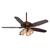 Casablanca Capistrano® Gallery 54-in Acadia Downrod or Close Mount Indoor Ceiling Fan with Light Kit and Remote Control